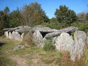 L'allée couverte de Tréal (Photo : JCArquié)